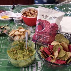 Super Bowl with #thebetterchip #vegan #chipsanddip