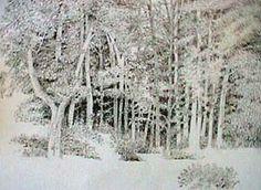 Joan Berg Victor landscape drawing