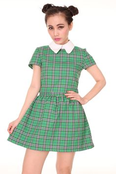 Green Tartan Clueless Set
