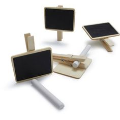 Sur La Table Chalkboard Clips, Set of 4 Sur La Table http://www.amazon.com/dp/B00FRM9LJM/ref=cm_sw_r_pi_dp_O8U.ub1YH8BXT