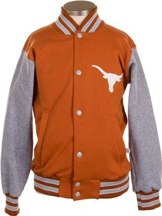 University Co-op Online | Youth Texas Longhorn Letterman Jacket