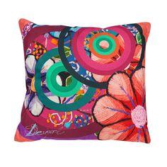 Discover the Desigual Handflower Cushion - 45x45cm at Amara
