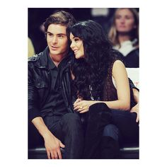 zack efron and vannesa hudgens ❤ liked on Polyvore