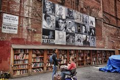 Brattle Book Shop in Boston, Massachusetts | Founded in 1825, the Brattle Book Shop is one of the largest antiquarian book shops in the country. There are unique outdoor bookstalls, as well as three levels of titles to browse through.
