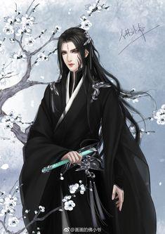 Nguồn trong ảnh Fantasy Art Men, Beautiful Fantasy Art, Fantasy Girl, Fantasy Artwork, Anime Art Girl, Manga Art, Asian Artwork, Chinese Drawings, Estilo Anime