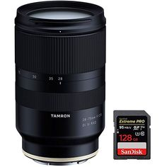 Tamron 28-75mm F/2.8 Di III RXD Full Frame E-mount Lens for Sony Mirrorless Cameras Blur Effect, Outdoor Camera, Sony Camera, Instant Camera, Camera Accessories, Wide Angle, Nikon, Lenses, Memories