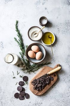 Stovetop Pots De Crème with Olive Oil and Flaky Salt – hausgemacht Food Photography Styling, Food Styling, Travel Photography, Photography 2017, Cooking Photography, Photography Studios, Photography Gallery, Photography Editing, Landscape Photography