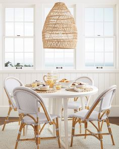 Kitchen chandeliers over your dine-in table are a beautiful - and practical - piece of decor. Here are some gorgeous ideas for chandeliers for YOUR kitchen.