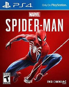 My friend Spider-Man has a new game! Marvel's Spider-Man for PlayStation 4 by Sony. Spider Man Ps4, Spider Man Playstation 4, Spider Man 2018, Playstation Games, Spiderman Spider, Spiderman Pics, Playstation Consoles, Amazing Spiderman, Xbox 360