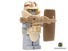 Juggernaut Custom Lego Army Modern Warfare Minifigure Desert Armor Machine Gun | eBay