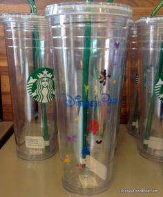 News! Disney Park Mugs Arrive at Starbucks Locations in Disney World and Disneyland
