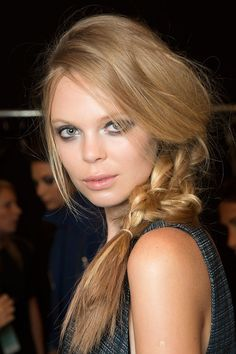 A gorgeous #braid from Marissa Webb's Spring 2015 #NYFW show.