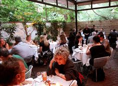 eateries to  dine alfresco in Manhattan.  One sounds good on 10th Ave near Highline......