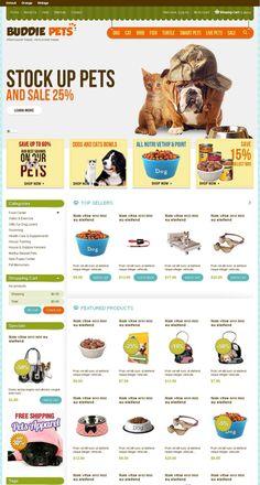 Buddie Pets Store PrestaShop Theme