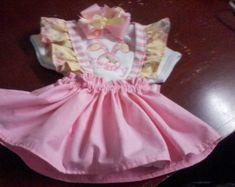 Infant Rompersummer | Etsy White Trim, Rose Buds, Mint Green, Color Combinations, Hot Pink, Infant, Barn, Flower Girl Dresses, Peach