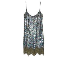 Parker silk chiffon minidress, $385, shopbop.com