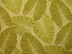 tropical upholstery fabric | Green Natural Woven Large Tropical Leaves Upholstery Fabric | eBay
