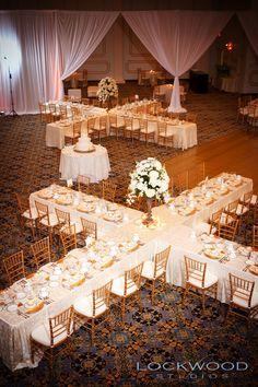creative wedding seating idea