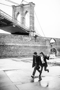 #DUMBO #Brooklyn #Engagement Photos by BOM Photography