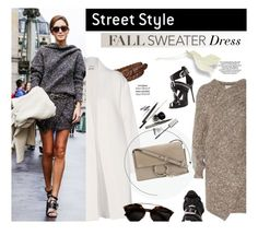 """""""Fall Sweater Dress"""" by junglover ❤ liked on Polyvore featuring Uniqlo, Acne Studios, STELLA McCARTNEY, Giuseppe Zanotti and Chloé"""