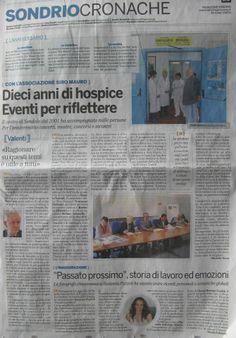articolo sul giornale locale