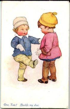 Susan Beatrice Pearse, Artist Vivian Mansell Postcard 1088 Children shoe posted | eBay
