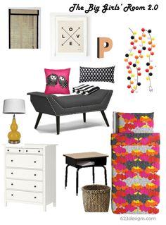 623Designs:interiors| The Big Girls Room 2.0