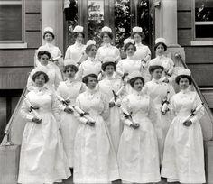 Georgetown University Hospital graduating nurses