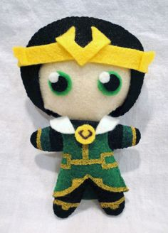 Loki Plushie by Frotu.deviantart.com