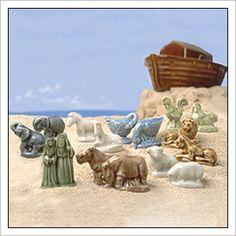 Noah's Ark Series 2002-2006 ... Red Rose Tea figurines