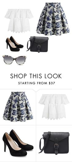 """Butterfly Garden"" by totallyweirdkitten ❤ liked on Polyvore featuring Chicwish, Madewell and STELLA McCARTNEY"