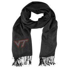 Virginia Tech Hokies NCAA Black Pashi Fan Scarf