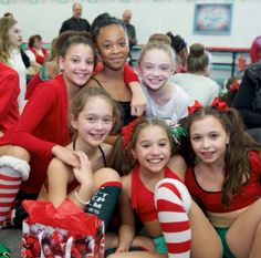 Mackenzie Ziegler at the ALDC Christmas Party [2014]