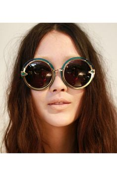 9dbd17ed4 Discover this look wearing Sunglasses - Jelly Round Frame Vintage  Sunglasses by chemjoy