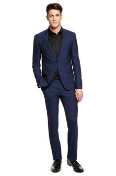Hugo Boss | 'Adris/Heibo' Extra Slim Fit, Stretch Virgin Wool Suit #hugoboss #suit