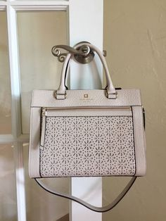 Kate Spade New York Perri Lane Romy Cremadevie WKRU3192 $355 #katespade #Satchel