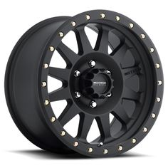 "Method Racing Wheels - Double Standard Matte Black 17"" or 16"""