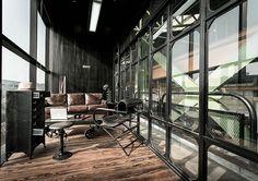 The height of steampunk chic.   Design: Metaphor Design Studio. Photo: Nuttee Thongjang.