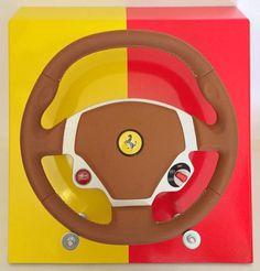 Catawiki pagina online de subastas Ferrari - Volante Ferrari 612 Scaglietii F134 OTO 2008 - SIN PRECIO DE RESERVA