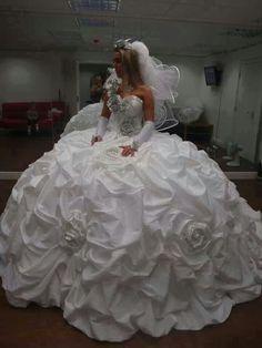 1274 Bridal Big Gypsy Robe Corset Sweetheart princesse mariage Sparkle UK Design