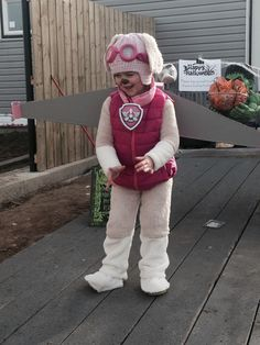 My little Skye from paw patrol  ) More Sky Paw Patrol Costume 1a395bf7ee