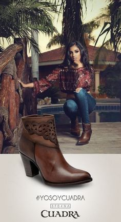 Gracias por dejarnos acompañarlos. #YoSoyCuadra #boots #womensfashion #cowgirl #womenstyle #shoes #moda