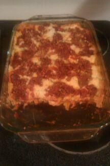 Barefoot Contessa s Lasagna from Food.com:   Great served with a salad, garlic bread and a nice Chianti! Very generous servings.
