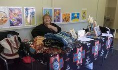 Wanda Redwing @ the UNO Native Film Festival in Omaha, NE