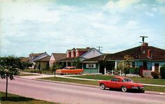 Lakewood, California, 1950s by A Box of Pictures, via Flickr