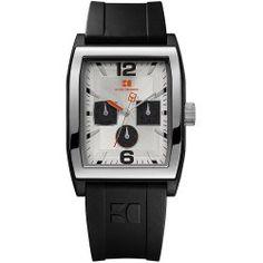 BOSS ORANGE Black Rubber Mens Watch 1512685
