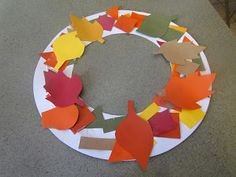 babies, toddlers, and preschoolers, oh my!: Fall Wreath