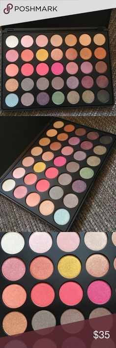 """Morphe 35E It's Bling Palette Brand new in box and authentic as always. All shimmer shades from vibrant pink to neutral warm tones. Completely gone online. Sold out everywhere. Price is firm unless bundled. Thank you   Pan size 9""""x6"""" Makeup Eyeshadow"""