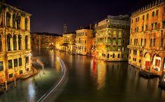 Venice Italy: Night Ride on the Vaporetto by Robert Arrington on 500px