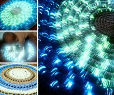 Crochet LED Light Rug Pattern